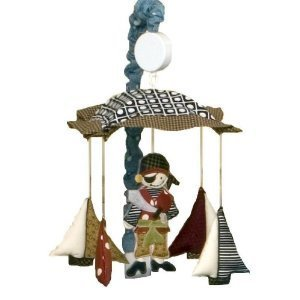 Baby / Child Cotton Tale Designs Pirates Cove Musical Mobile - Uniquely Designed To Create Your Perfect Nursery Infant