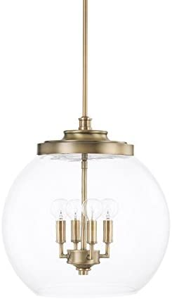 Capital Lighting 321142AD Four Light Pendant