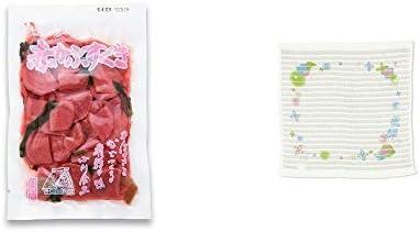 [2点セット] 赤かぶすぐき(160g)・(飛騨限定)さるぼぼ コラーゲンぷちたおる洗顔用【ホワイト】(綿100%)