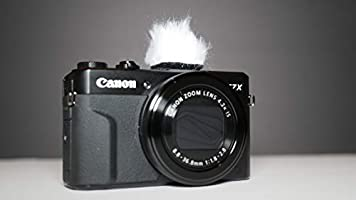 Camera microphone muff self build kit for canon g7x mark ii and other cameras