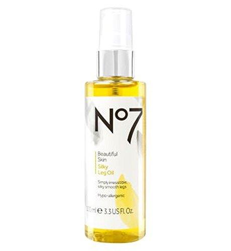 No7美しい肌絹のような脚油 (No7) (x2) - No7 Beautiful Skin Silky Leg Oil (Pack of 2) [並行輸入品]   B01MQFF2YP