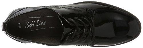 Patent Femme 23360 Noir Derby Black Softline aPqg4n