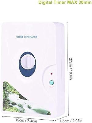 CAIYUE Purificador de Agua y Aire con ozono, generador de ozono ...