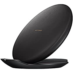 Samsung Fast Charge Wireless Charging Convertible Stand W/ AFC Wall Charger (US Version with Warranty), Black
