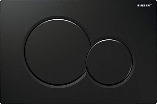 Geberit 115.770. DW. 5 bedieningsplaten Sigma01, kunststof handvat, zwart RAL9005