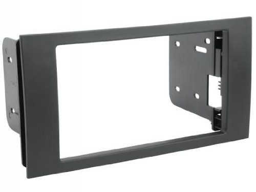 (SCOSCHE FD1444B 2010-13 Ford Transit Connect Van Double DIN or DIN w/Pocket Install Dash Kit)