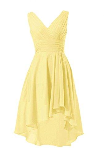 banana bridesmaid dresses - 1