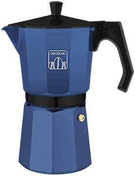Cecotec cafetera italiana Mimoka 300 Blue fabricada en aluminio ...