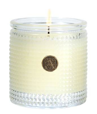 Aromatique 5.5 Oz Candle in Orange and Evergreen