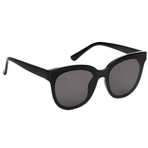 Monture Verres Noir Style Contre Magideal Lunettes Avec Transparentes Soleil De Vintage Dommage Rétro nqq7Tw80a