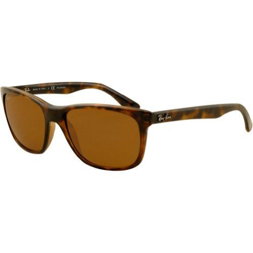Ray-Ban RB4181 Highstreet Polarized Sunglasses,57mm,Light ()