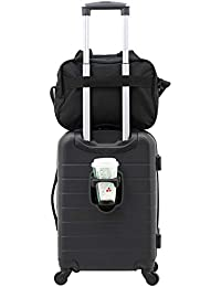 2 Piece Smart Spinner Carry-On Luggage Set