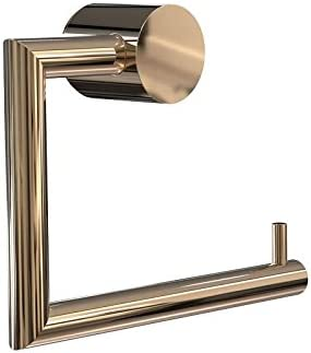 Nova/² Toilettenpapierhalter edelstahl geb/ürstet BxHxT 14,5x11,1x4cm