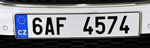 3M Dual Lock Kennzeichenhalter Set mit Automotive doppelseitigem Klebeband
