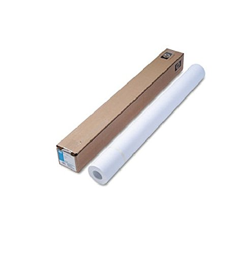 HP C6020B Coated Paper, 24 lb, 36''x150', 90 GE/101 ISO, BR White