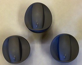 Weber #99242 3 Pack of Control Knobs for 3 Burner Spirit Grills Made in 2007 (Weber Grill Knobs compare prices)