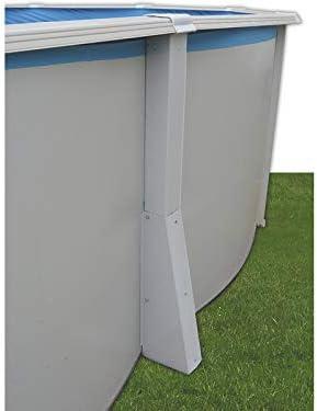 TOI - Piscina IBIZA OVALADA COMPACTA 550x366x132 cm Filtro 3,6 m³ ...