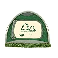 Camp Tent Picture Frame, Collectible Lodge Decor, 2x3, 4.5-inch