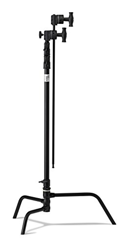 Kupo 40'' Turtle Base Kit (Stand, 2.5'' Grip Head & 40'' Grip Arm with Hex Stud) - Black by Kupo (Image #1)