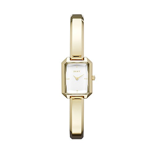 DKNY Women's 'Cityspire' Quartz Stainless Steel Casual Watch, Color:Gold-Toned (Model: NY2648)