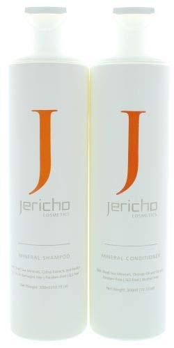 Jericho Cosmetics - ミネラルシャンプー+コンディショナー(2 x 300ml)Original from Dead Sea B07R85HFG7