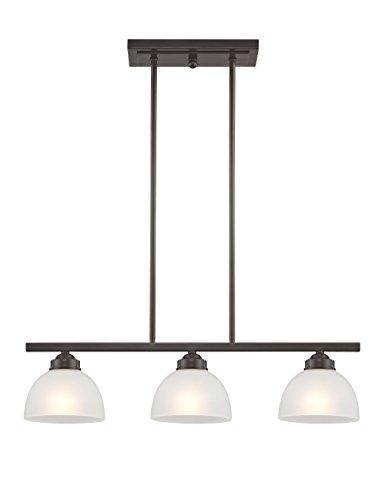 Livex Lighting 4226-92 Somerset 3 Light English Bronze Linear Chandelier,