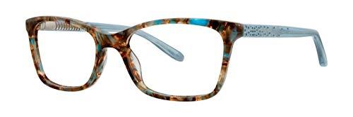 Vera Wang Eyeglasses Silvia SK Sky/Tortoise Full Rim Optical Frame 52mm