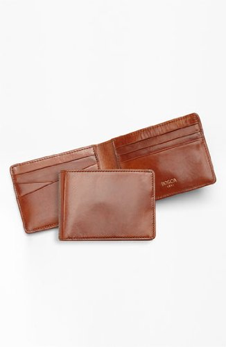 Old Leather Small Bifold Wallet