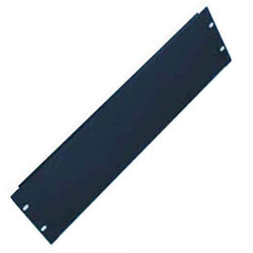 Rack Mount 2U 19 inch Blank Panel Filler Non Vented Black for Server Rack cabinets Network enclosures and wallmount Servers