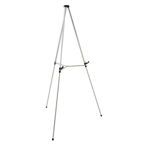 Quartet Easel, Aluminum, Lightweight, Telescoping, 66