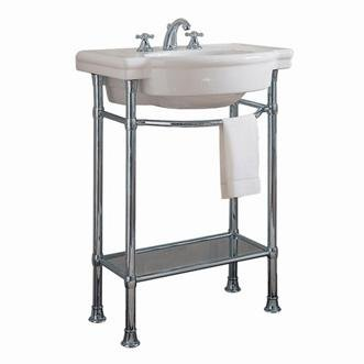American Standard 0282.008 Retrospect 27u0026quot; Fireclay Pedestal Sink Only    Less Ped, ...