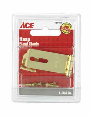 ACE TRADING BHDW 1 01-3725-117 FIXED STAPLE SAFETY HASP