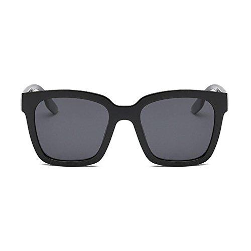 Aoligei Hommes et femmes générales style rétro marée mirror polarisé lunettes de soleil lunettes de soleil métal cercle b5vzRQFDOu