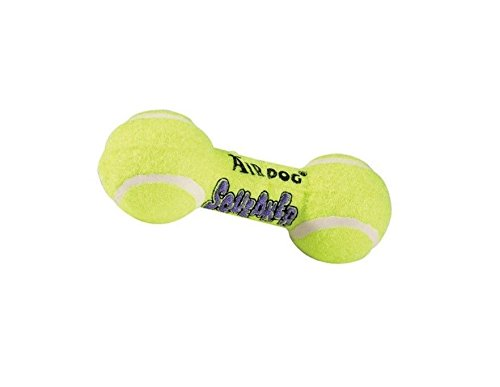 Dumbbell Kong Air Squeaker - AIR Squeaker Dumbell Dog Toy Heavy Duty Floating Dogs Squeak Toys Tennis Ball (Small Dumbbell - 5