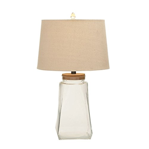 Studio 350 Set of 2, Glass Fillable Table Lamp 26 inches high ()