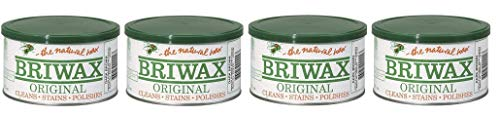 Briwax Darkbrown (Dark Brown) Furniture Wax, Cleans, Stains, and Polishes (Fоur Paсk) by Briwax (Image #1)