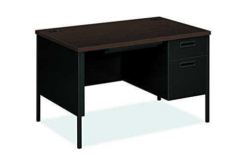 Metro Office Table - HON  Metro Classic Small Office Desk -  Right Pedestal Desk with File Drawer, 48