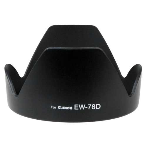 - Fotodiox Lens Hood Replacement for EW-78D Compatible with Canon EF 28-200mm f/3.5-5.6 USM and EF-S 18-200mm f/3.5-5.6 IS Lens