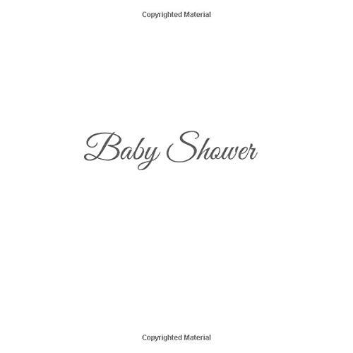 Libro De Visitas Baby Shower ideas regalos decoracion accesorios fiesta firmas invitados baby shower bautizo bebé niño niña 21 x 21 cm Cubierta Blanco ...