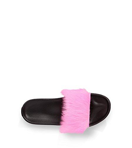UGG Australia Damen Royale Slide Sandale Neon Pink