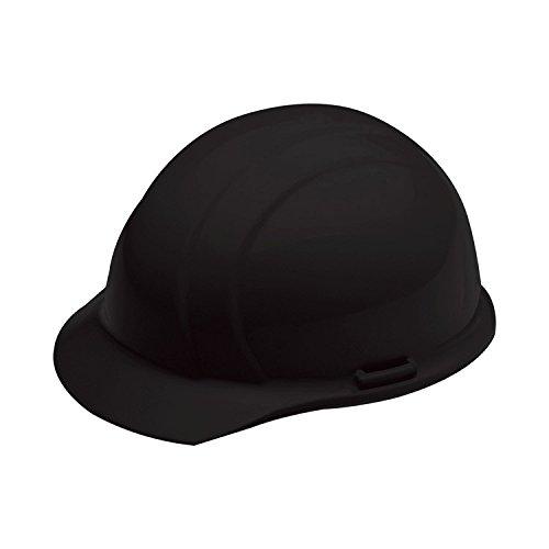 ERB 19371 Americana Cap Style Hard Hat with Mega Ratchet, Black