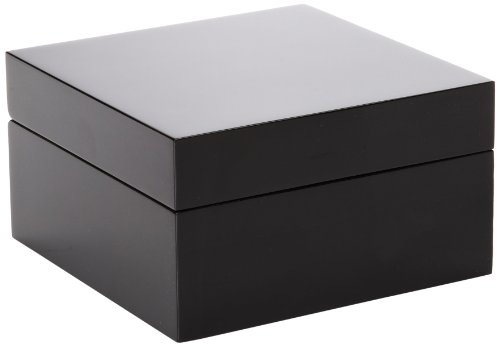 Presentation Cabinet 1 4in (Diplomat 31-52401 Black Wood One Box Watch Case)