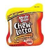 Cheap Meaty Bone Chew Lotta Long Lasting Chewbone Dog Treat 5 Ounces Small / Medium