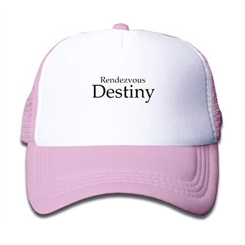 Rendezvous with Destiny Children Sun Cap Hats Pink