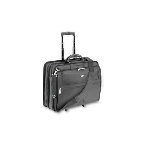 Targus Xl Rolling Notebook Case Holds Most 17in Screens Black