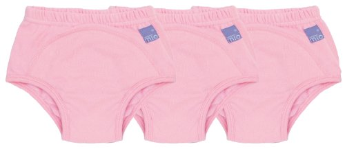 Bambino Mio, Potty Training Pants, Light Pink, 2-3 Years, 3 Count