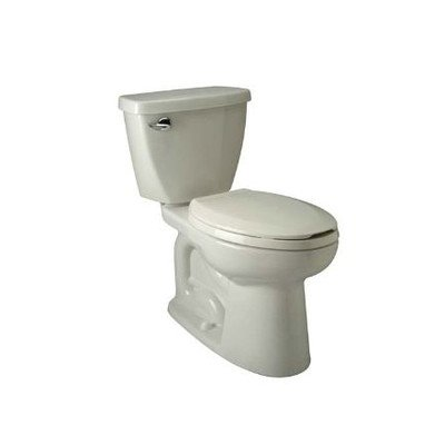 "Zurn Z5552-K Elongated, 3"" HPT Performance, Siphon Jet, 1.6 gpf Two-Piece Toilet"