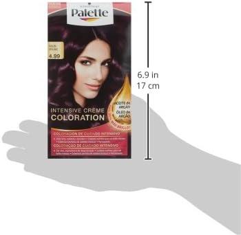 Palette Intense Color Cream Coloración Permanente, Tono 4.99 ...