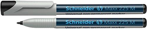 Schneider Schreibgeräte Universalmarker non-permanent Maxx 225 M, 1,0 mm, schwarz