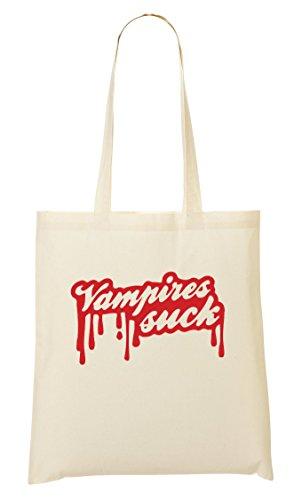 CP Vampires Suck Cool Bolso De Mano Bolsa De La Compra